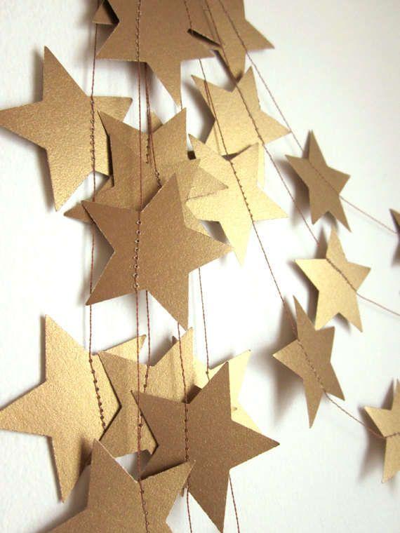 DIY Bintang-bintang Dinding (2)