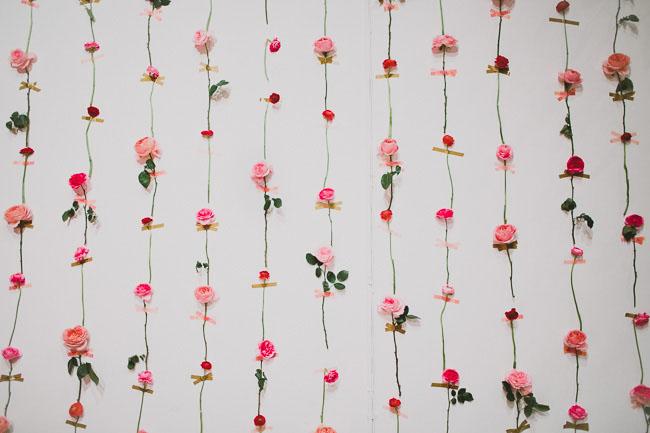 DIY Bunga Segar Dinding2