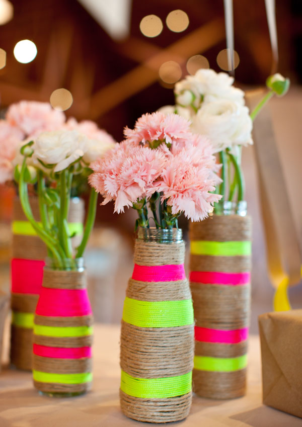 DIY Rope Vases1